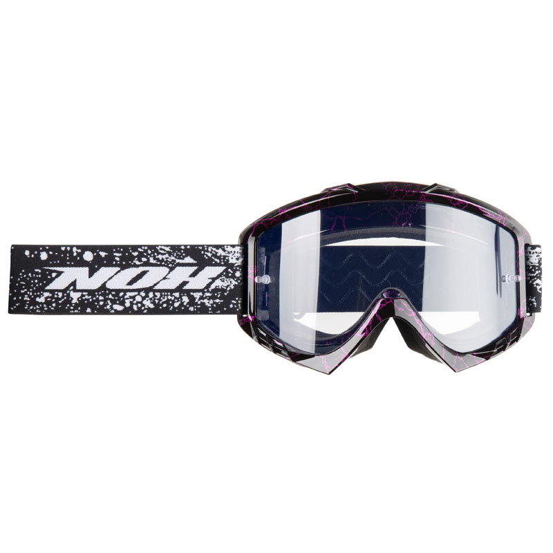 Masque cross Nox N8 noir violet