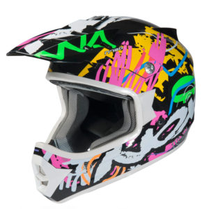 Casque cross enfant N724 kid flashy