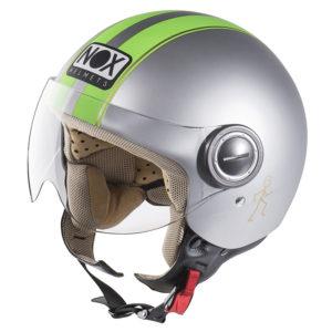 NOX N210 gris mat / vert