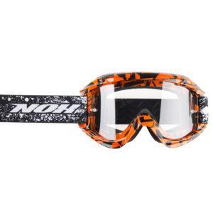 Masque cross Nox N3 orange