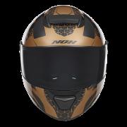 N301 Steel bronze face visière fumée
