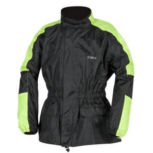veste pluie waterproof DG drop jaune fluo