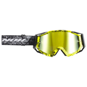Masque cross NOX N11 jaune fluo