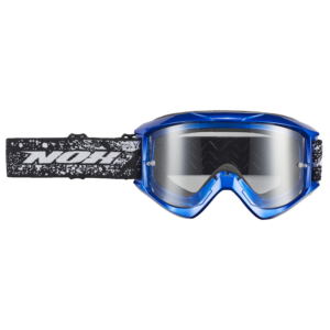 Masque cross NOX N10 bleu electric