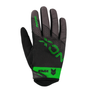 Gant NOX MX VIPER Noir Mat Vert fluo