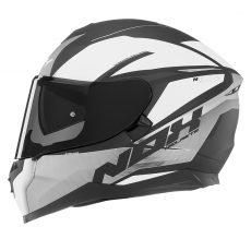 Nox motorcycle helmet n302 strabus  Matt white